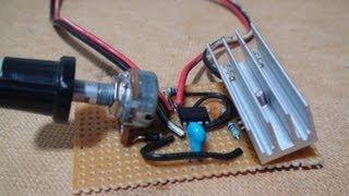 555 Timer Circuits - Motor PWM