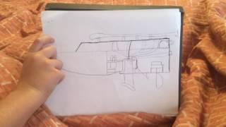 Tesla turbine powered Chris Craft Boat model... by Brody