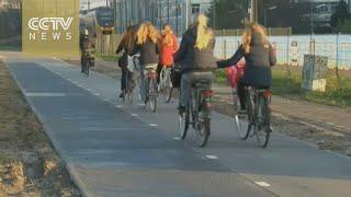 Amazing: Solar road set up in Netherlands