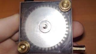 Mini homemade air turbine