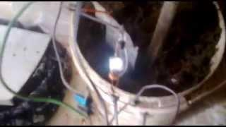 earth battery with joule thief