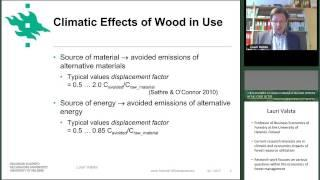 Conflicting effects of forests and wood use on climate change mitigation