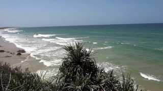 Ocean Waves at Coolum Beach Australia