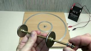 Magnet motor homopolar