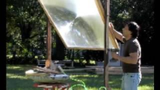 FRESNEL LENS SOLAR HOT WATER, Heat Solar Pool Heater Solar Swimming Pool greenpowerscience