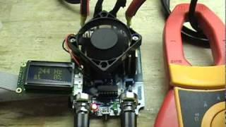 NEW 50 amp Microcontrolled Efficient PWM Demonstration.