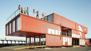 Prefab Shipping Container Homes, Container Houses Design, Building House From Shipping Containers