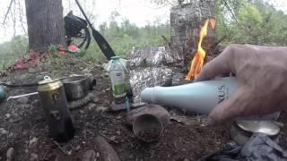 Cooking with the Silverfire Scout gasifier stove