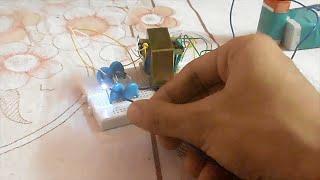 High Voltage Joule Thief High Voltage Circuit(DIY Low Voltage to High Voltage)