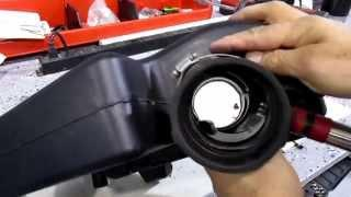 How To Install The HHO Gas Inlet part 2