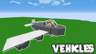 VEHICLES IN MINECRAFT! | Minecraft Plugin Tutorial ✈️