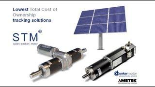 Advanced Solar Tracking Motion Solutions by Dunkermotoren (brand of AMETEK Precision Motion Control)