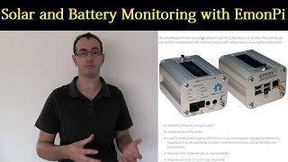 Mikes DIY Powerwall Update 55 - Solar and Battery Monitoring System EmonPi
