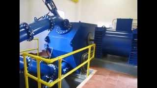 Hydropower plant 2 at Ashfield Farm Micro hydro 500Kw Pelton