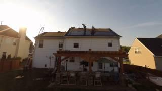 Solar Shingle Installation on Mooresville, NC Home