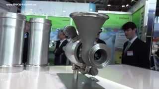 MTT mCHP micro turbine EnerTwin at Hannover Fair 2015 (english)