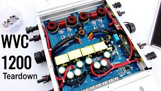 WVC1200 Solar Micro Grid Tie Power Inverter Teardown & Repair