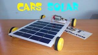[Tutorial] Cars powered by solar energy, How to make car solar