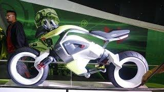 HERO iOn Concept Bike   Hydrogen Fuel Cell