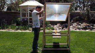 Crave - Hot! A homemade solar death ray, Ep. 113