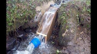 DIY Micro Hydro part 8 intake pipe connection