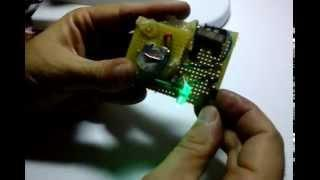 Light a LED with a 'dead' battery (joule thief circuit)
