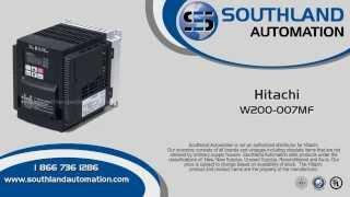 Hitachi WJ200-007MF, 1 Horse Power,  1-phase, 115 Volt, 3 Phase, Drive