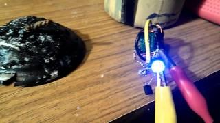 CRYSTAL POWER CELL AND JOULE THIEF