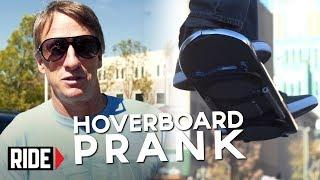 HUVr Tech - Tony Hawk Reveals Hoverboard Prank