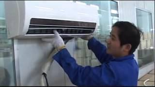 how to install the solar air conditioner? air conditioner with solar engergy