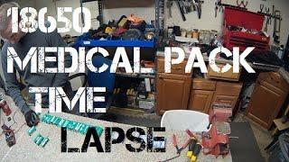 Diy Tesla Powerwall ep26 18650 Medical Pack Time Lapse