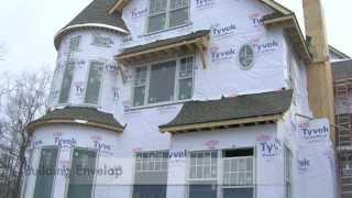 One Simple Step To A Greener Home: Tyvek