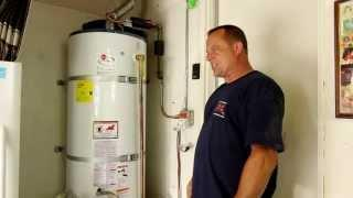 How to drain a  water heater