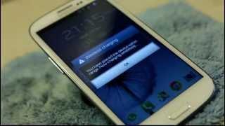 Samsung Galaxy SIII Wireless Inductive Charging DIY