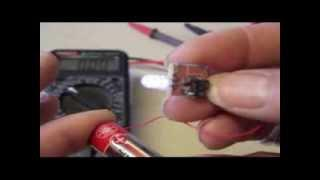 Joule Thief using RF Chokes