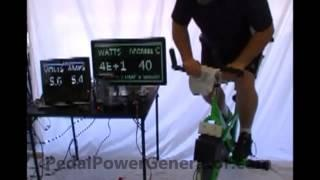 Calories Required for Boiling Water with Exercise Bike  Pedal Power Bicycle Generator SPG-300