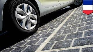 Solar power: France green energy project paves 1,000km of road with solar panels - TomoNews