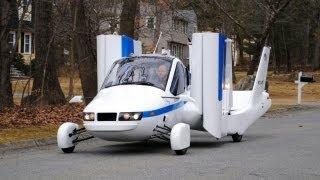 ► Flying Car - Terrafugia Transition street-legal aircraft