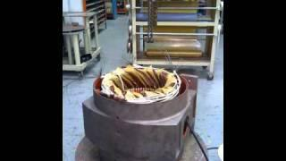 75kW induction generator