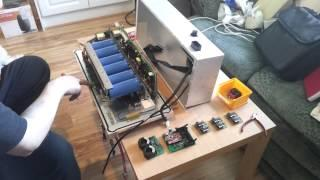 BMW E31 840CI EV Conversion 12 : Inverter 01