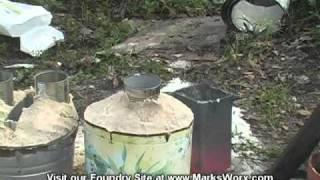 MarksWorx #10 Fabricating an Aluminum Bell using Lost Foam Casting.mpg