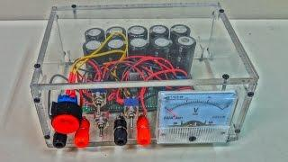 Supercapacitors Battery Bank