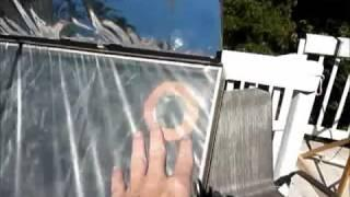 diy solar heater - solar pool heater