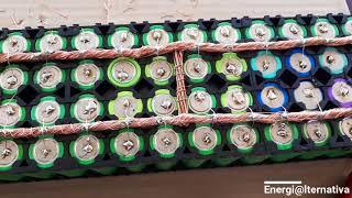 Soldando el pack de 18650 para Powerwall DIY - Parte 7