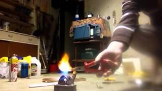"Pressurized ethanol ""pipe and can"" stove- coil-less"