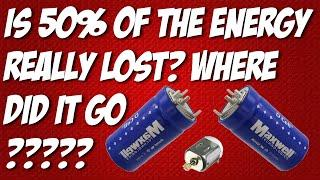 Maxwell Capacitors Discharging and Charging