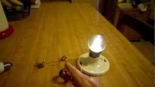 Jeanna's light of america joule thief with secondary coil --(A)--
