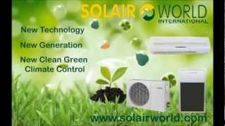 Solar Air Conditioning How it Works!!N
