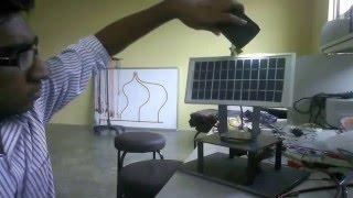 Dual Axis Active Solar Tracking System