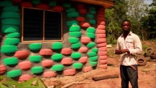 "Building an ""Earthship"" with Tires -- Peace Corps Ghana"